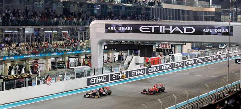 Yas Marina Circuit Formula-1