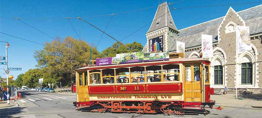 Tram-and-the-Canterbury-Museum